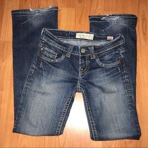 MEK Henderson Boot Cut Jeans Size 25